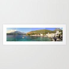 mani.greece Art Print