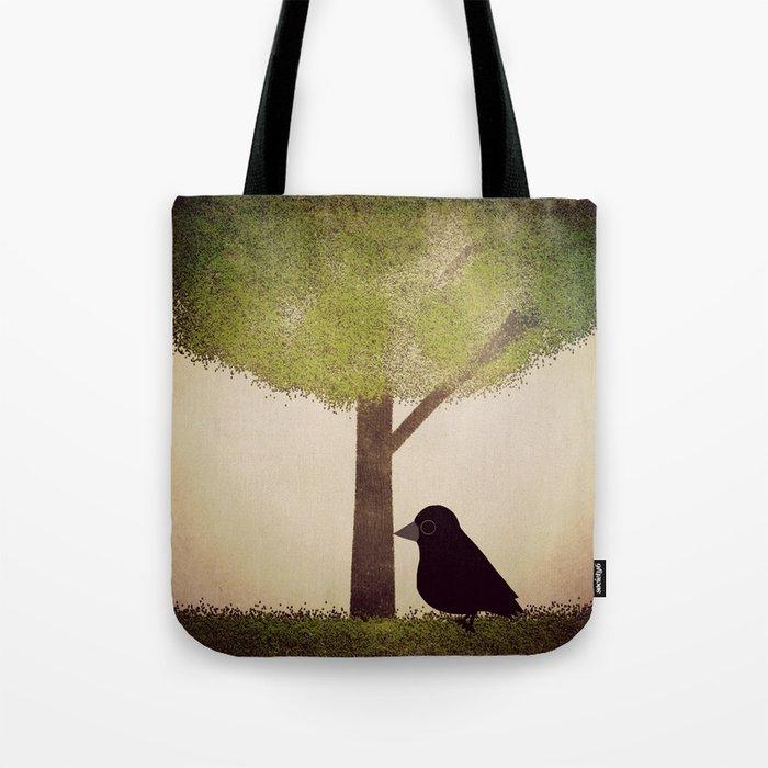 Crow-196 Tote Bag