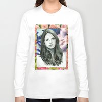 ultraviolence Long Sleeve T-shirts featuring ULTRAVIOLENCE by Jethro Lacson
