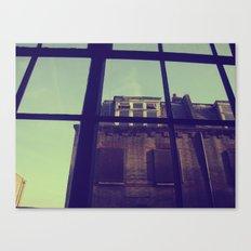 London window Canvas Print