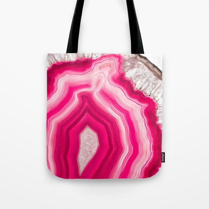Translucent Agate Tote Bag
