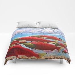 Returning Home Comforters