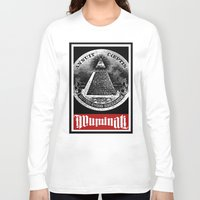 illuminati Long Sleeve T-shirts featuring Illuminati  by Spyck