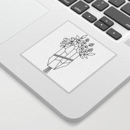 Crystal Flower Bouquet Sticker