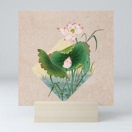 lotursflowers A : Minhwa-Korean traditional/folk art Mini Art Print