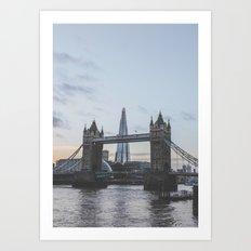 Tower Bridge, London U.K. Art Print