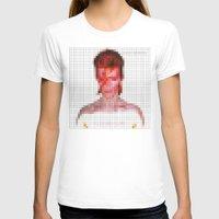 aladdin T-shirts featuring Bowie : Aladdin Sane Pixel by Stuff.