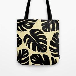 Monstera Leaf Print 2 Tote Bag