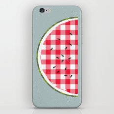 Picnic iPhone & iPod Skin