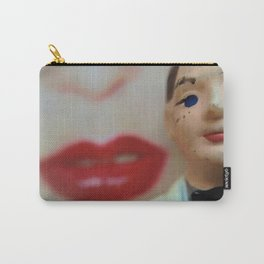 Pop Hot White Tux Red Lips (PHWTRL) Carry-All Pouch