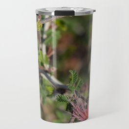 Desert Wildflower Bush Travel Mug