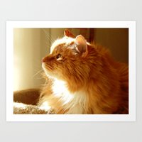 tigger Art Prints featuring Tigger sunshine by ACamp
