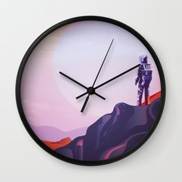 kepler - 1647 B Wall Clock