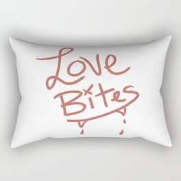 Love Bites Rectangular Pillow