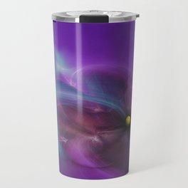 Gravitational Distort Space Abstract Art Travel Mug