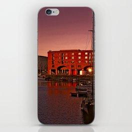 Albert Docks, Liverpool iPhone Skin
