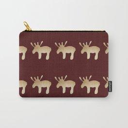Reindeer queues #decor #buyart Carry-All Pouch