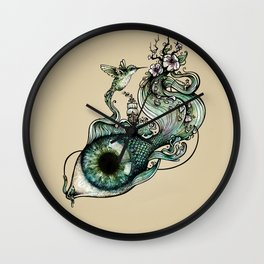 Flowing Inspiration Wall Clock