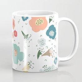 Whimsical Floral Pattern Coffee Mug