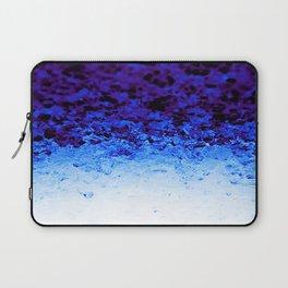 Indigo Blue Crystal Ombre Laptop Sleeve