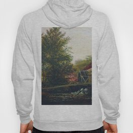 An Old Mill 1859 By Lev Lagorio   Reproduction   Russian Romanticism Painter Hoody