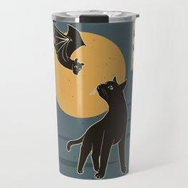The Cat with Batty Travel Mug