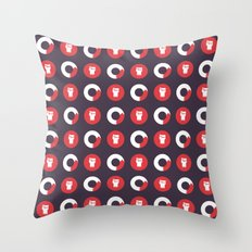 Downright Fierce Throw Pillow