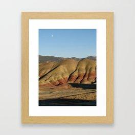 The Painted Hills I Framed Art Print
