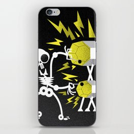 """Skele"" Monster Rock iPhone Skin"