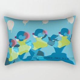 No Substance, Only Illusions Rectangular Pillow