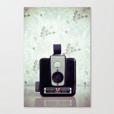 Vintage Brownie Hawkeye. Canvas Print