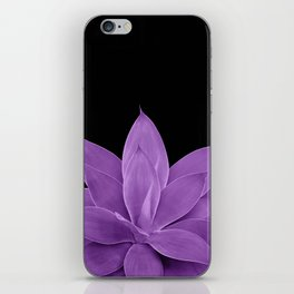 Purple Agave #1 #tropical #decor #art #society6 iPhone Skin