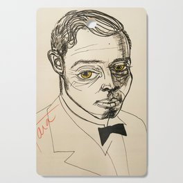 1920s fella Cutting Board