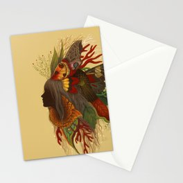 Natural Dark Stationery Cards