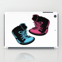 sneakers iPad Cases featuring Sneakers by Cindys