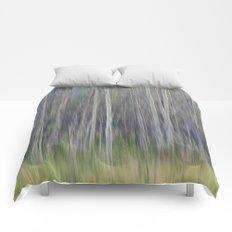 Birch Blurs Comforters