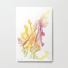 Winding Roots Metal Print