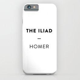 The Iliad iPhone Case
