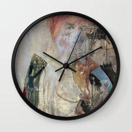 Women who run with wolves I. Baba Jaga Wall Clock