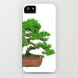 Japanese Bonsai Tree iPhone Case