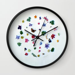 A Perpetual State of Unfinished Wall Clock