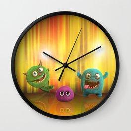 Monster Performance Wall Clock