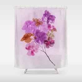 A Floral Sprig Shower Curtain