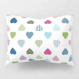AFE Colorful Hearts Pillow Sham