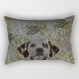 Duck Hunter Rectangular Pillow
