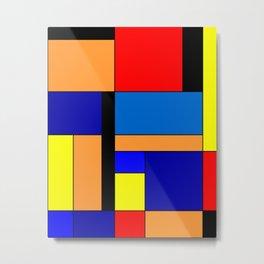 Mondrian #46 Metal Print