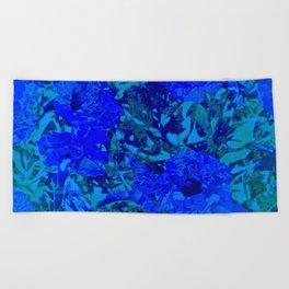 Flowers 115 Beach Towel