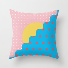 Memphis Style N°6 Throw Pillow