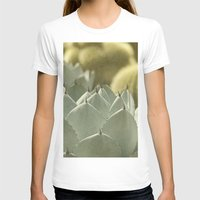 cactus T-shirts featuring Succulent by Pure Nature Photos