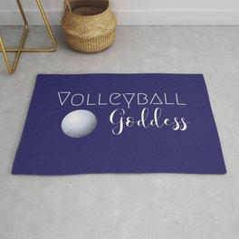 Volleyball Goddess Rug